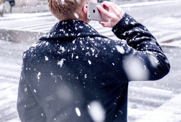 Phone in Snow